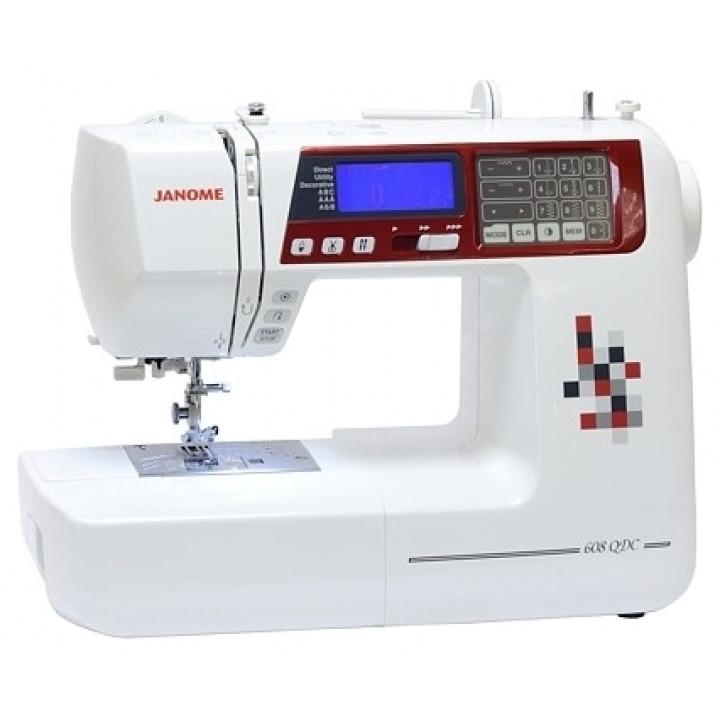 Швейная машина Janome QDC 608