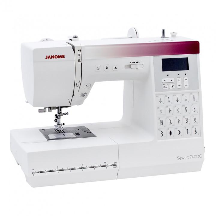 Швейная машина Janome Sewist 740DC