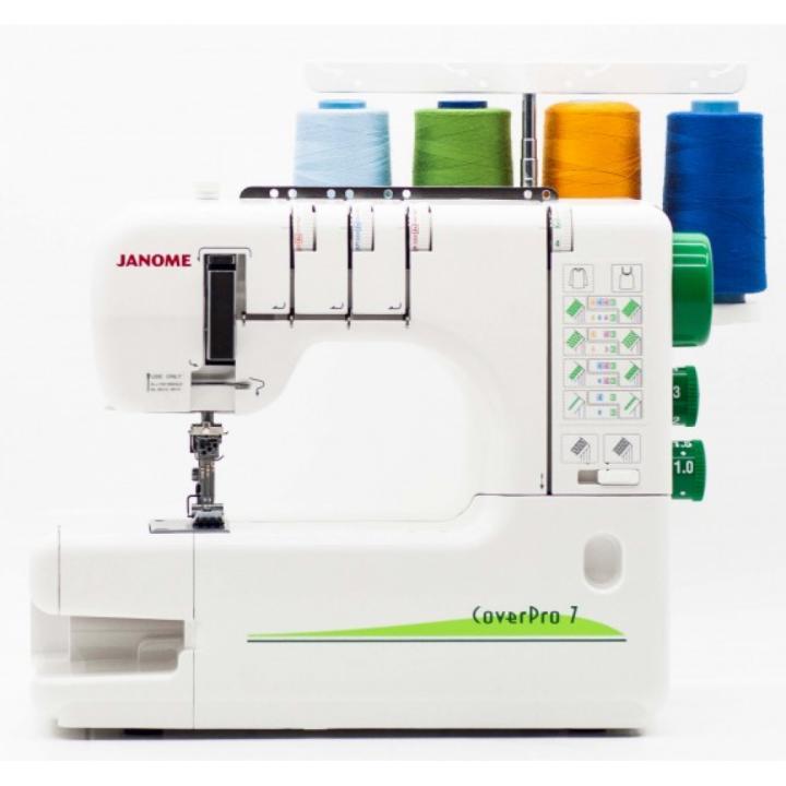 Распошивочная машина Janome CoverPro 7