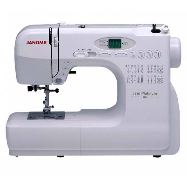Швейная машина Janome Jem Platinum 720