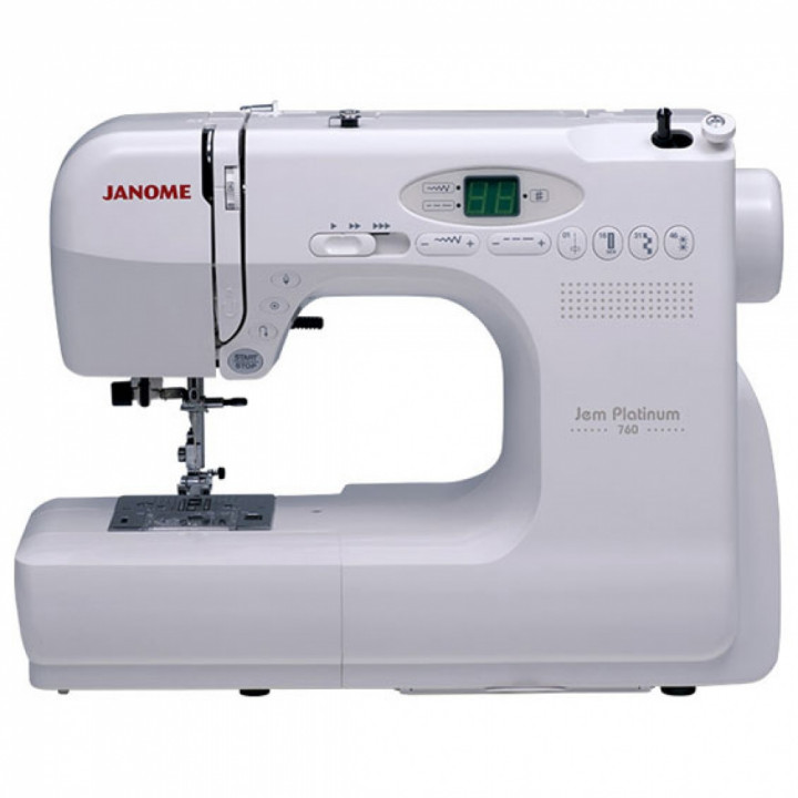 Швейная машина Janome Jem Platinum 760